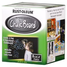 Compare Rust Oleum Specialty Chalk Board Paint Black Finish 887Ml
