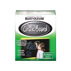 Review Rust Oleum Specialty Chalk Board Paint Green Finish 887Ml Rust Oleum