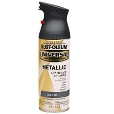 Promo Rust Oleum Universal Spray 11Oz Dark Steel