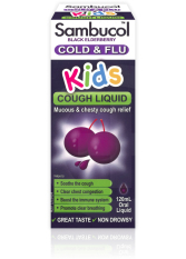 Price Comparisons For Sambucol Black Elderberry Kids Cough Liquid 120Ml