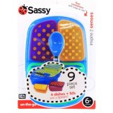 Brand New Sassy® Ss30126 On The Go Feeding Set
