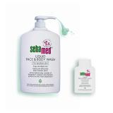 Sebamed Liquid Face Body Wash Promo Pack 1000Ml 200Ml Shop