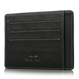 Secret Felicity Sfr1 Mens Slim Card Holder Rfid Blocking Leather Front Pocket Wallet Black Promo Code