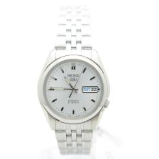 Best Reviews Of Seiko 5 Snk355K1 Automatic Stainless Steel White Dial Analog Men S Casual Watch