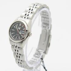 Seiko 5 SYMA43K1 Automatic Black Dial Stainless Steel Ladies Analog Casual Watch