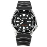 Price Seiko Automatic Diver Men S Black Resin Strap Watch Skx007K1 Seiko
