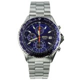 Low Cost Seiko Chronograph Mens Watch Nwt Warranty Snd255P1