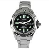 Sale Seiko Men S Stainless Steel Solar Divers Sports Watch Sne107P1 Online On Singapore