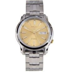 Sale Seiko 5 Automatic Men S Stainless Steel Watch Snkl81K1