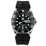 New Seiko 5 Sports Automatic Black Dial Watch Snzf17K2 Snzf17K Snzf17