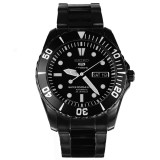 Seiko Automatic Divers 23 Jewels 100M Japan Made Men S Black Stainless Steel Strap Watch Snzf21J1 Singapore