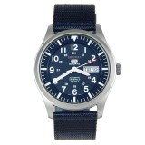 Price Seiko 5 Sports Military Navy Blue Colour Automatic Mens Sports Watch With Day Date Feature Snzg11 Blue Online Singapore