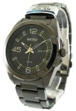 How Do I Get Seiko Solar Men S Black Ip Stainless Steel Strap Watch Sne287P1