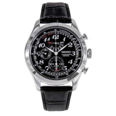 Wholesale Seiko Chronograph Mens Watch Nwt Warranty Spc133P1 Black