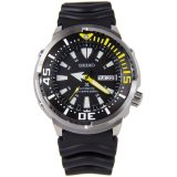 Best Offer Seiko Men S Prospex Automatic Diver Rubber Watch Srp639K1