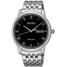 Seiko SRP703J1 Black Dial Stainless Steel Analog Casual Men's Watch