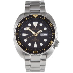 Seiko Prospex Turtle Automatic Divers 200M Men's Stainless Steel Strap Watch SRP775K1