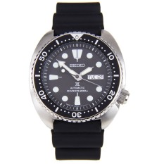 Seiko Prospex Turtle Automatic Divers 200M Men S Black Silicone Strap Watch Srp777J1 Discount Code