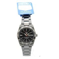 Seiko SYMG41J1 Ladies Analog Black Dial Stainless Steel Automatic Round Watch