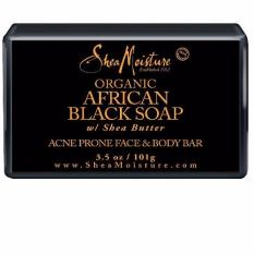 Sheamoisture African Black Soap Acne Prone Face Body Bar In Stock