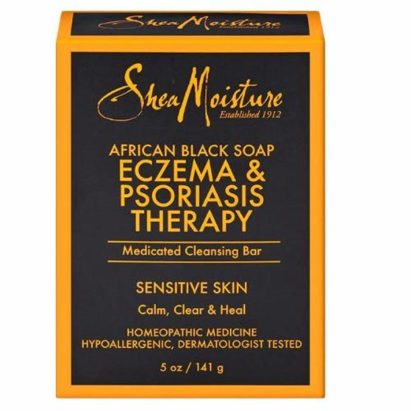 Buy SheaMoisture African Black Soap Eczema & Psoriasis Therapy Medicated Cleansing Bar Singapore