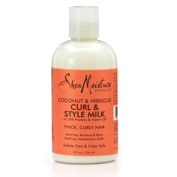 Buy SheaMoisture Coconut and Hibiscus Curl and Style Milk - 234ml Singapore