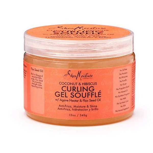 Buy SheaMoisture Coconut and Hibiscus Curling Gel Souffle - 340g Singapore