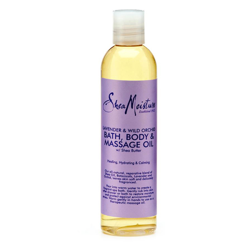 Buy SheaMoisture Lavender and Wild Orchid Bath, Body and Massage Oil - 230g Singapore