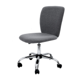 Best Blmg Simple Modern Office Chair Fabric Grey Free Delivery