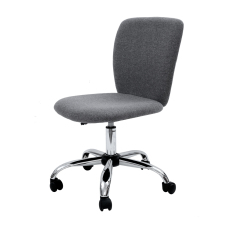 Sale Blmg Simple Modern Office Chair Fabric Grey Free Delivery Singapore Cheap