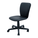 Buy Blmg Simple Modern Office Chair Pvc Black Free Delivery On Singapore