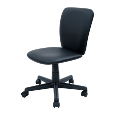 Blmg Simple Modern Office Chair Pvc Black Free Delivery Discount Code