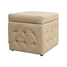 BLMG Single Bubble Cube Stool (Brown) (Free Delivery)