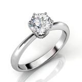Sale Solitaire Ring Zirconia From Swarovski® Her Jewellery