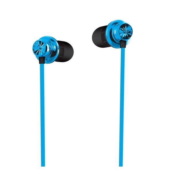 SonicGear In-Earphones SparkPlug Chrysan Blue Singapore