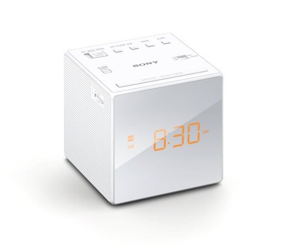 Sony Clock Radio ICF-C1 (White) Singapore