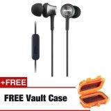 Sony Mdr Ex650Ap Btex Monitor Headphones Black Free Vault Case Cheap