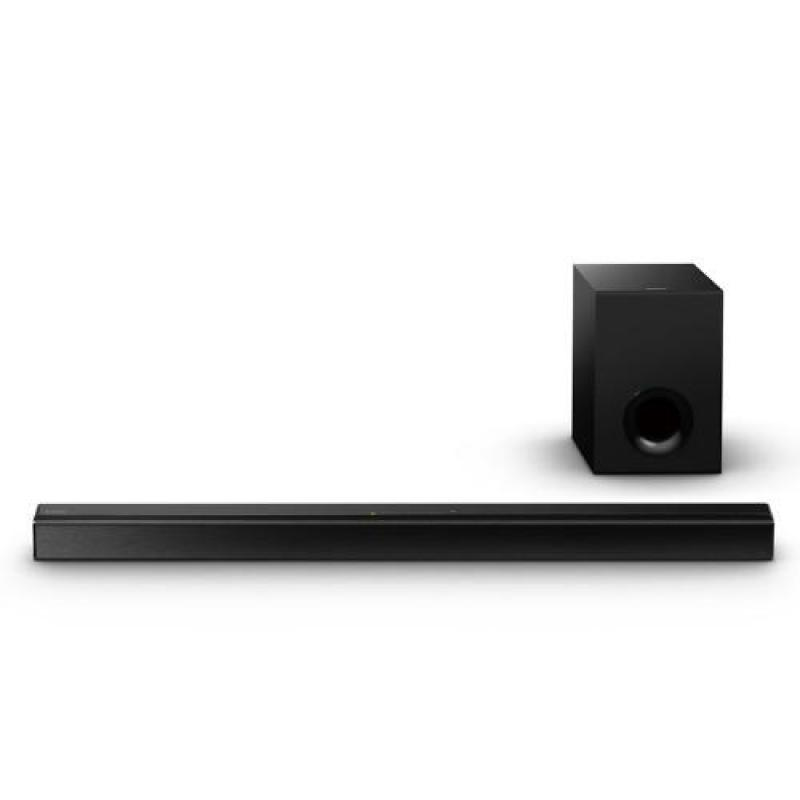 Sony Singapore 2.1ch Sound Bar with Bluetooth® HT-CT80 (Black) Singapore