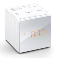 Sony Singapore Icf C1 Radio Clock White For Sale