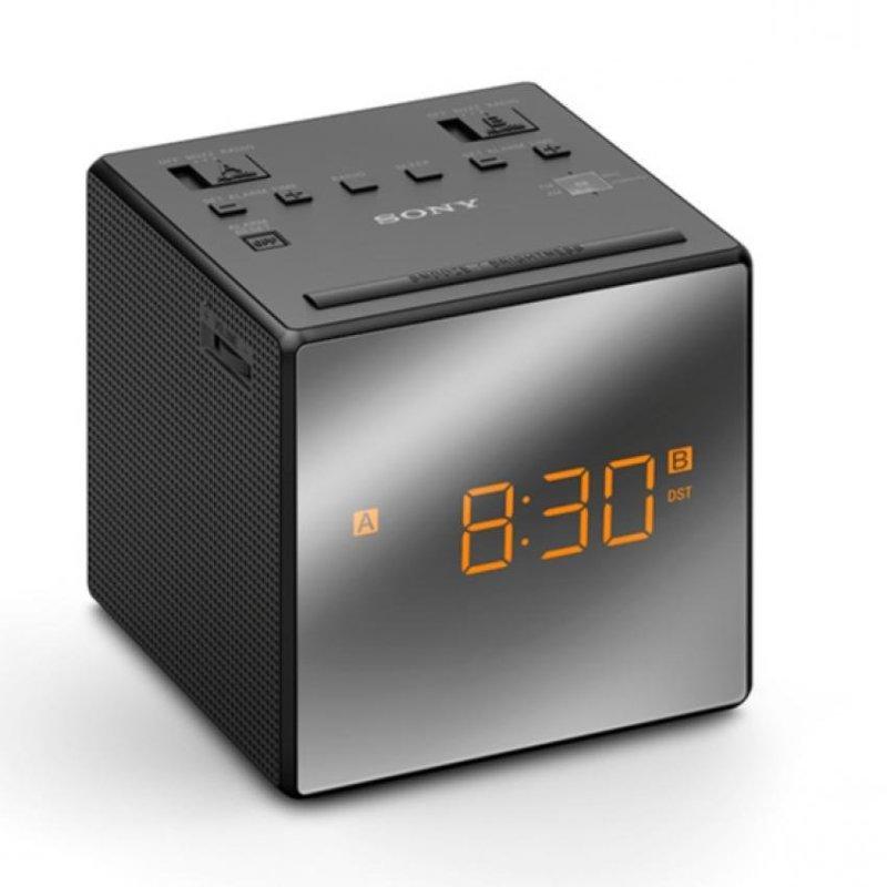 Sony Singapore ICF-C1T Radio Clock with dual alarm (Black) Singapore