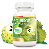 Soursop Extract Plus 1300Mg 60 Capsules Lower Price