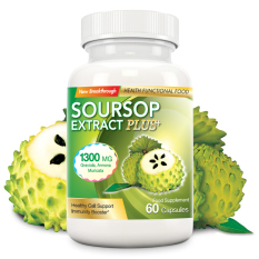 Soursop Extract Plus 1300mg 60 Capsules By Oxytarm Asia Pacific Pte Ltd.