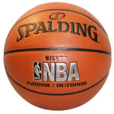 Spalding Nba Silver Indoor Outdoor Basketball Size 7 Coupon