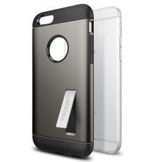 Retail Spigen Iphone 6S 6 Case Slim Armor Gunmetal