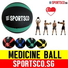 Sportsco 3kg Medicine Ball (sg) By Sportsco Singapore.