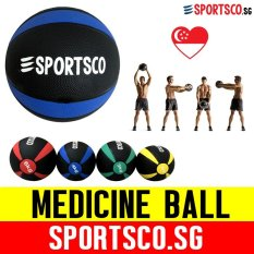 Sportsco 4kg Medicine Ball (sg) By Sportsco Singapore.