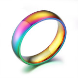 Discount Stainless Steel Rainbow Ring For Men And Women Size 6 To 12 Intl