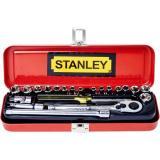 Promo Stanley Socket Set 1 4 21Pc Mm And Af 89 507