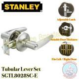 Compare Stanley Tubular Lever Door Handle Set Sgtl8028Sc E Silver Prices
