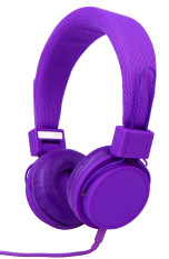 Sales Price Style Clique Ex09I Best Stereo Over The Head Headphone Purple